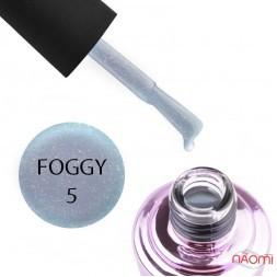 Гель-лак Elise Braun Foggy 05, блакитний з шимерами, 7 мл