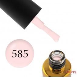 Гель-лак F.O.X Lady Romantic 585, світлий пастельно-рожевий, 6 мл