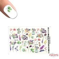 Слайдер-дизайн 3D 1011 Квіти, рослини, пір'я