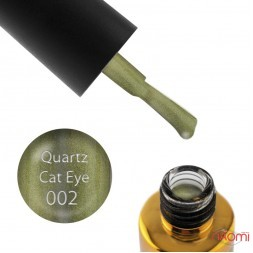 Гель-лак F.O.X Quartz Cat Eye 002, золото з відблиском, 6 мл