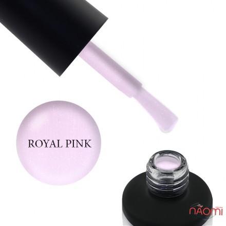 База камуфлирующая для гель-лака Nails Molekula Base Coat Royal Pink с шиммером, 12 мл, фото 1, 150.00 грн.