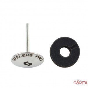 Педикюрний диск парасолька Staleks PRO Pododisc M, d=20 мм зі змінним файлом-кільцем 180 гріт 5 шт.