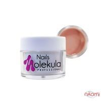 Гель камуфлюючий Nails Molekula Gel 08 Cover Light, рожево-бежевий, 15 мл