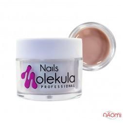 Гель камуфлюючий Nails Molekula Gel 10 Cover Dark, темний бежево-кавовий, 30 мл