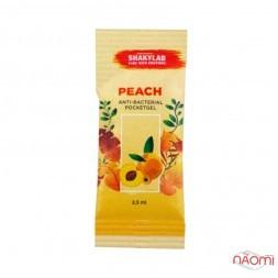 Санитайзер Washyourbody PocketStick Peach, персик, стик, 2 мл