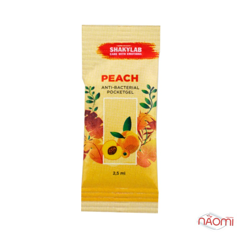 Санитайзер Washyourbody PocketStick Peach, персик, стик, 2 мл, фото 1, 2.00 грн.