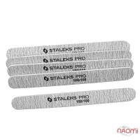 Набор пилок для ногтей Staleks PRO, 100/100, прямые, 5 шт.