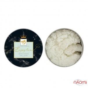 Натуральний сольовий скраб для тіла Enjoy-Eco Body Scrub Лайм, банка, 220 г
