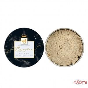 Натуральный солевой скраб для тела Enjoy-Eco Body Scrub Голубая глина, банка, 220 г