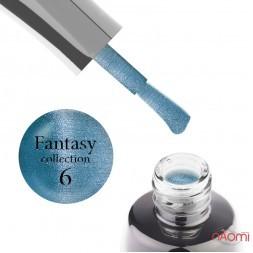 Гель-лак LUXTON Fantasy 06, синій з відблиском, 10 мл