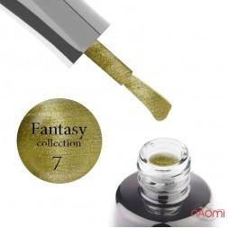 Гель-лак LUXTON Fantasy 07, оливковий з відблиском, 10 мл