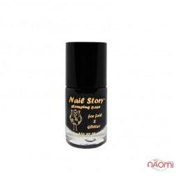 Стемпинг база для фольги, втирки, глиттера Nail Story Stamping Base For Foil Glitter, 11 мл