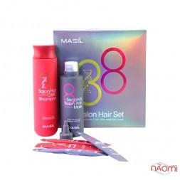 Набір огляду за волоссям Masil Salon Hair Shampoo and Mask Set