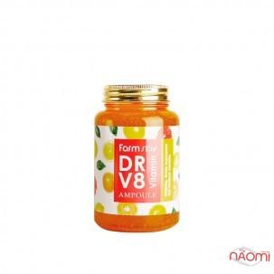 Сыворотка ампульная для лица Farmstay DR-V8 Vitamin Ampoule с витаминами, 250 мл