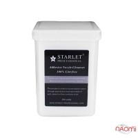 Салфетки безворсовые в пластиковом контейнере Starlet Professional, 5х5 см, 200 шт.