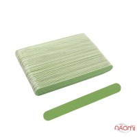 Набор пилок для ногтей Kodi Professional 120/120, прямые, 50 шт., цвет зеленый