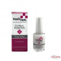 База лікувальна для сухих, слабких нігтів Nail Tek Foundation 3 Ridge Filler, 15 мл