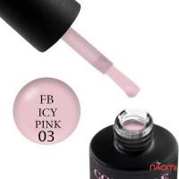 База для гель-лаку Couture Colour Revital Fiber Base FB 03 Icy Pink, 9 мл