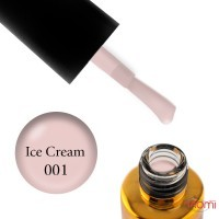 Гель-лак F.O.X French Panna Cotta 001 Ice Cream розово-молочный, 12 мл
