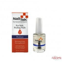 Зволожуюча терапія для м'яких нігтів Nail Tek Moisturizing Strengthener 2 Hydrate, 15 мл