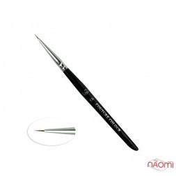 Пензлик для дизайну Couture Colour & GS Nail Art Brush 1.5, із волосся колонка 7 мм
