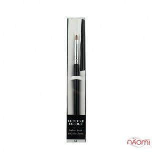Кисть для дизайна Couture Colour & GS Nail Art Brush 4.5, овальная, искусственный ворс 9 мм