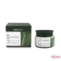 Крем для лица Farmstay Aloe Visible Difference Fresh Cream успокаивающий с экстрактом алоэ, 100 мл