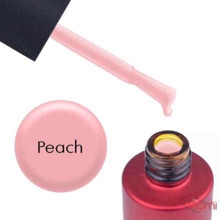 База камуфлирующая для гель-лака Kodi Professional Lint Base Gel Peach, цвет насыщенный персиковый, 7 мл, фото 1, 130.00 грн.