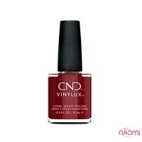 Лак CND Vinylux Cocktail Couture 365 Bordeaux Babe насичений малиново-червоний, 15 мл