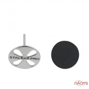 Педикюрний диск Staleks PRO Pododisc L, d=25 мм зі змінним файлом 180 гріт 5 шт.