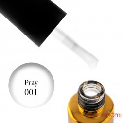Гель-лак F.O.X Spectrum Gel Vinyl 001 Pray белый, 7 мл