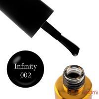 Гель-лак F.O.X Spectrum Gel Vinyl 002 Infinity черный, 7 мл