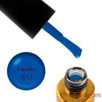 Гель-лак F.O.X Spectrum Gel Vinyl 022 Fatality синий, 7 мл