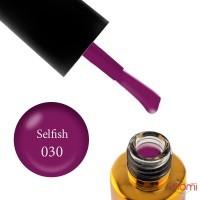 Гель-лак F.O.X Spectrum Gel Vinyl 030 Selfish розовая фуксия, 7 мл