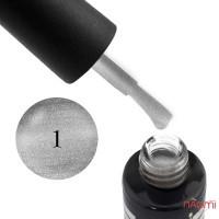 Гель-лак Oxxi Professional Glory 001 серебро с шиммерами, 10 мл