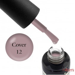 База камуфлююча для гель-лаку Oxxi Professional Cover Base Coat № 12, 15 мл
