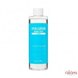 Тонер для обличча Secret Key Hyaluron Aqua Soft Toner з гіалуроновою, AHA, BHA кислотами, 500 мл