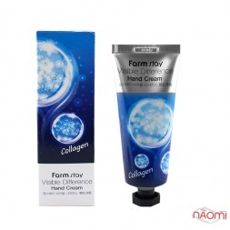 Крем для рук Farmstay Visible Difference Hand Cream Collagen с коллагеном, 100 мл