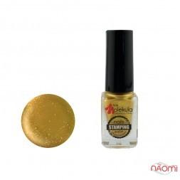 Лак для стемпінга Nails Molekula Stamping 03 золото, 6 мл