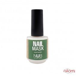 Маска для нігтів NUB Nail Mask зміцнююча з кератином вовни, 15 мл