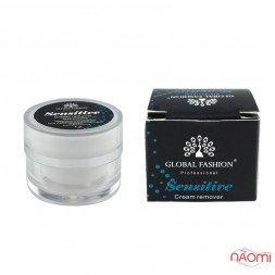 Ремувер для вій кремовий Global Fashion Cream Remover Sensitive, 7 г