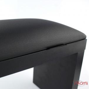 Подлокотник для рук Rainbow Store настольный, на черных ножках 32х11х16 см, цвет черный