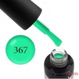 Гель-лак Oxxi Professional 367 светлый зеленый, 10 мл