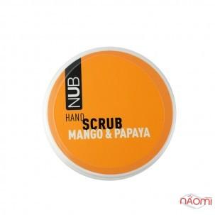 Скраб для рук NUB Spa Care Hand Scrub Mango Papaya, манго папайя, 200 мл