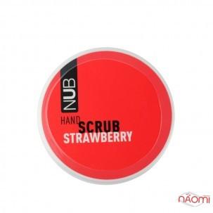 Скраб для рук NUB Spa Care Hand Scrub Strawberry, полуниця, 200 мл