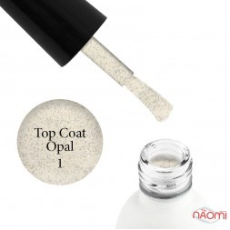 Топ для гель-лаку без липкого шару Koto Opal Top Coat 01, 5 мл