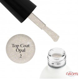 Топ для гель-лаку без липкого шару Koto Opal Top Coat 02, 5 мл
