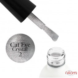 Топ для гель-лаку без липкого шару Koto Crystal Cat Eye Top Coat 02, 5 мл