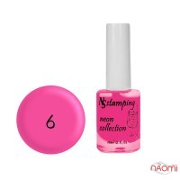 Лак для стемпинга Nail Story Stamping Neon 06, нежно-розовый, 11 мл
