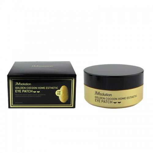 Патчи гидрогелевые под глаза JM Solution Golden Cocoon Home Esthetic Eye Patch с экстрактом золота и шелка, 60 шт., фото 1, 295.00 грн.